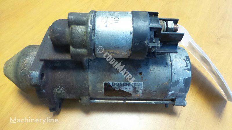 starter for CASE WX150 excavator