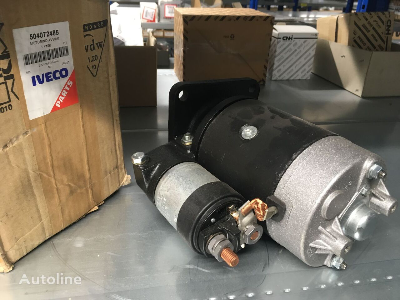 new IVECO starter for IVECO Stralis truck