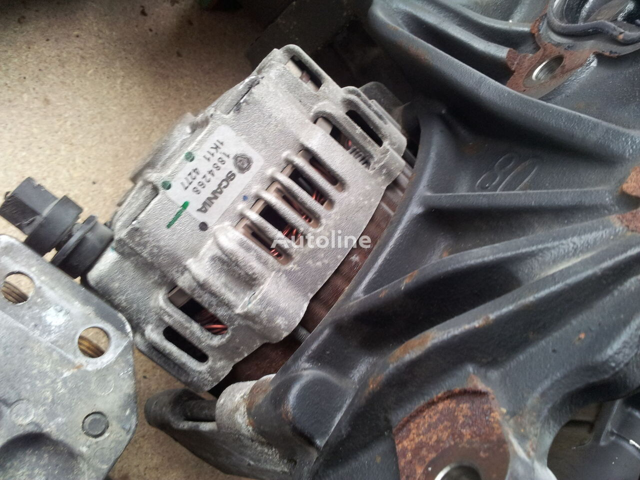 Starter  Alternator  Generator  A  C Compressor  Scania R