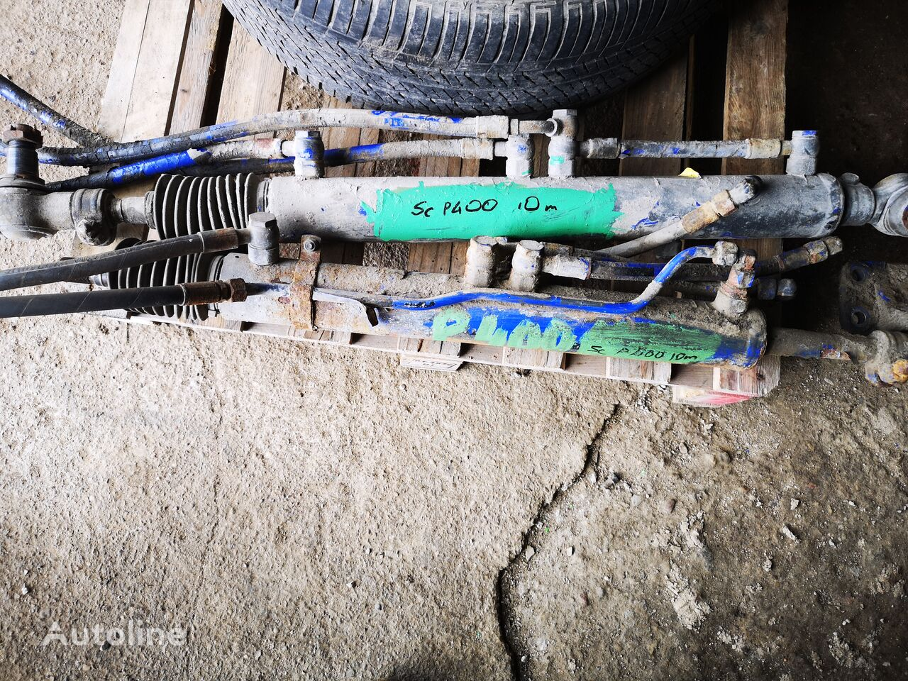 SCANIA (1768885) steering column for SCANIA P400 , 1768885 truck