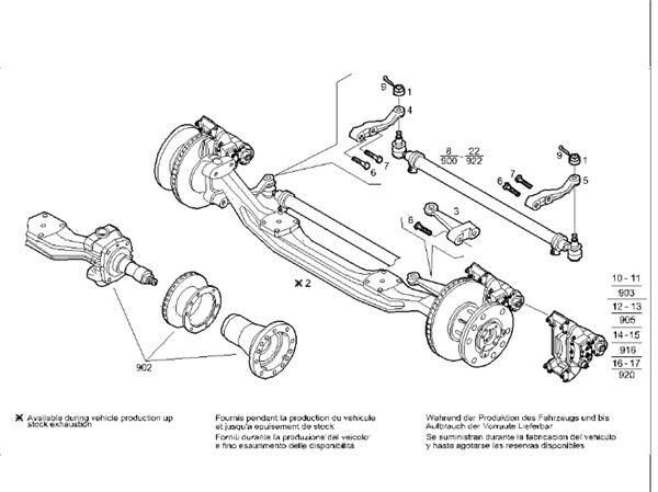 Barra Direccion Iveco Stralis AS 440S48 (41036943) steering linkage for IVECO Stralis AS 440S48 tractor unit