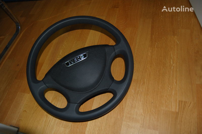 new Iveco Lenkrad 420mm icl. Adapter Daily + Schnellvearschluß für Fz. ab Bj. 99 steering wheel for IVECO Daily van