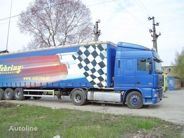 new DAF sun visor for DAF XF95 truck