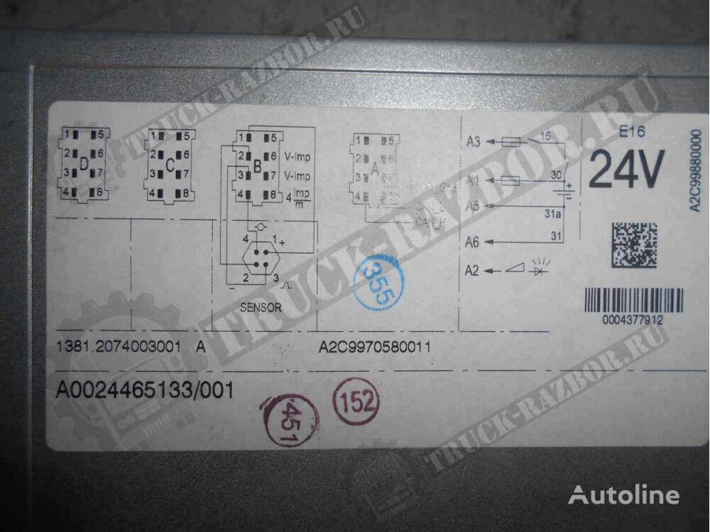 (0024465133) tachograph for MERCEDES-BENZ 2016G tractor unit