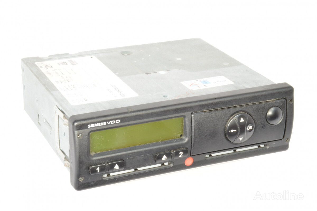 VOLVO DTCO 1381.1232303002 ver2.2a, tachograph for tractor unit
