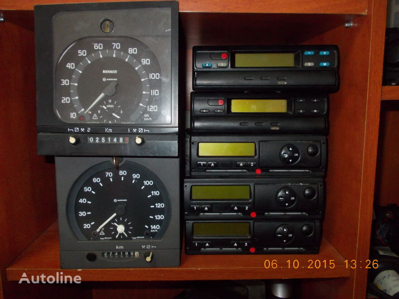 Kinzle 1318,1381,  1324 tachograph for DAF XF  CF LF truck