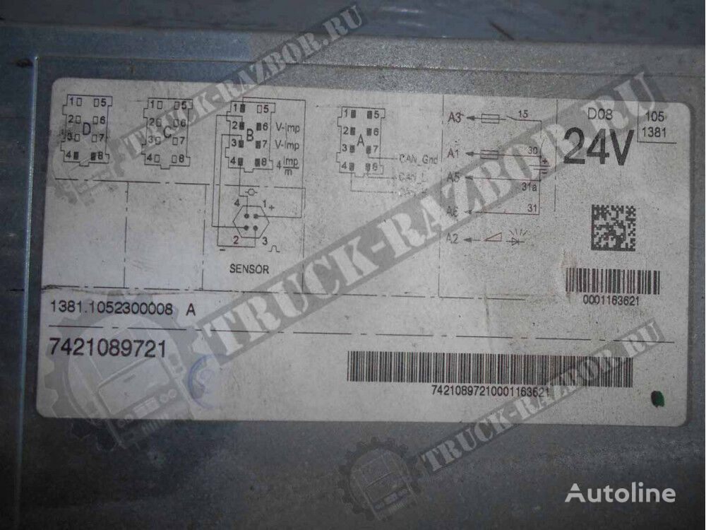(7421089721) tachograph for RENAULT tractor unit