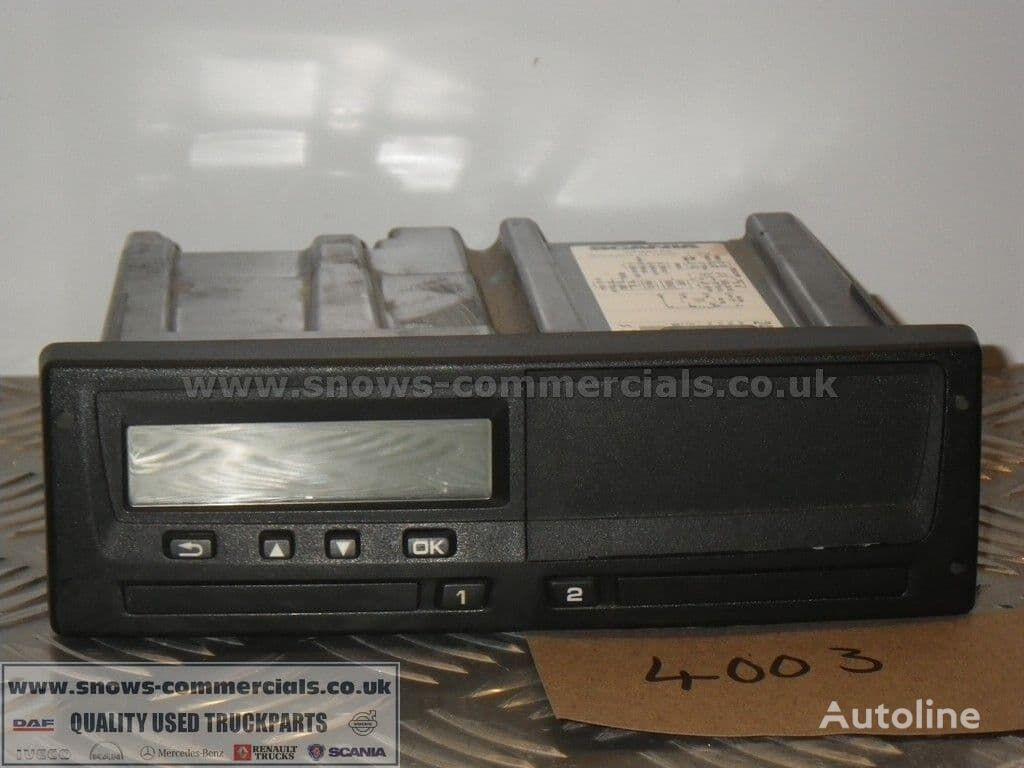SCANIA tachograph for P280 2013 truck
