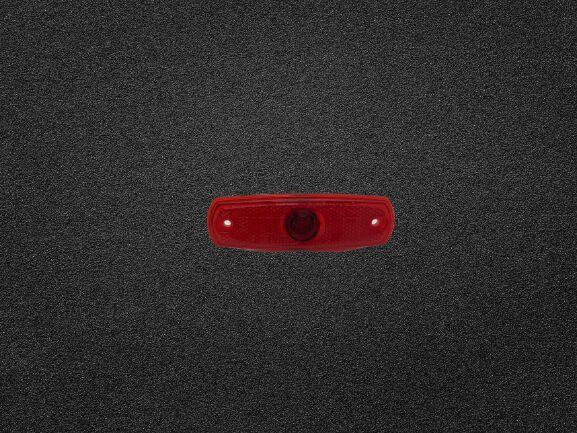 new HELLA Seitenmarkierungsleuchte rot links, mit Birne vgl. (2PS962964018) tail light for Universal automobile