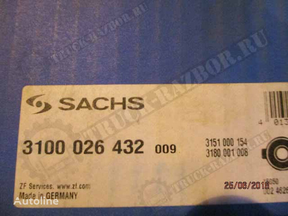 SACHS (3100026432) throwout bearing for VOLVO tractor unit
