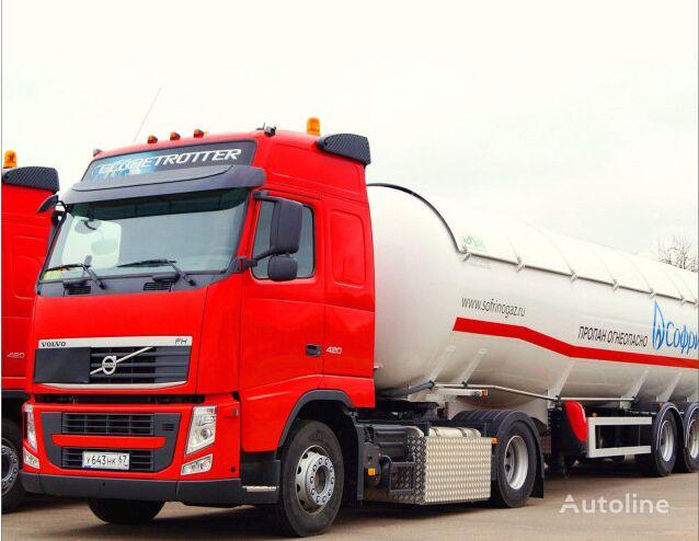 new tipper system for gazovoz truck
