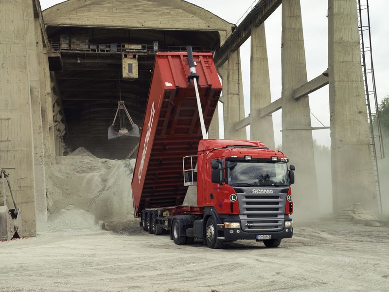 new tipper system for tractor unit