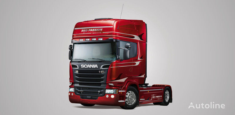 new tipper system for SCANIA tractor unit