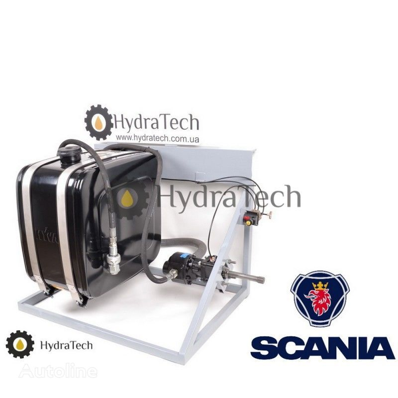 new SCANIA tipper system for SCANIA tractor unit
