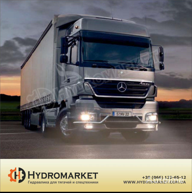 new Gidravlika Binotto tipper system for SCANIA MAN, IVECO, VOLVO, DAF, Renault tractor unit