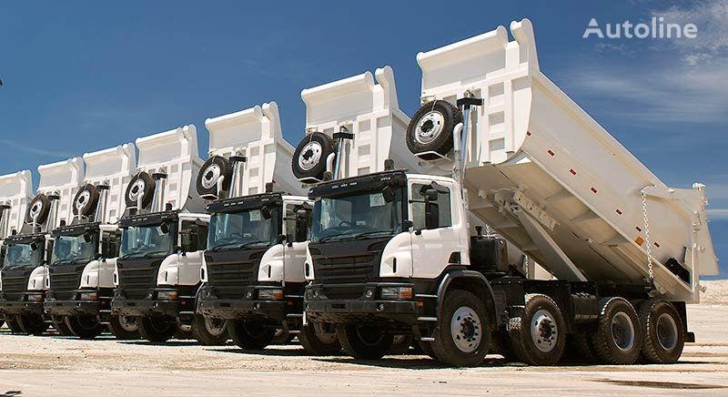 new Pereoborudovanie gruzovikov v samosvaly tipper system for tractor unit