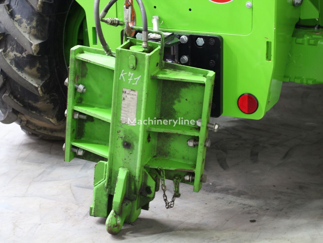MERPUTHDA 26-6 tow bar for telehandler