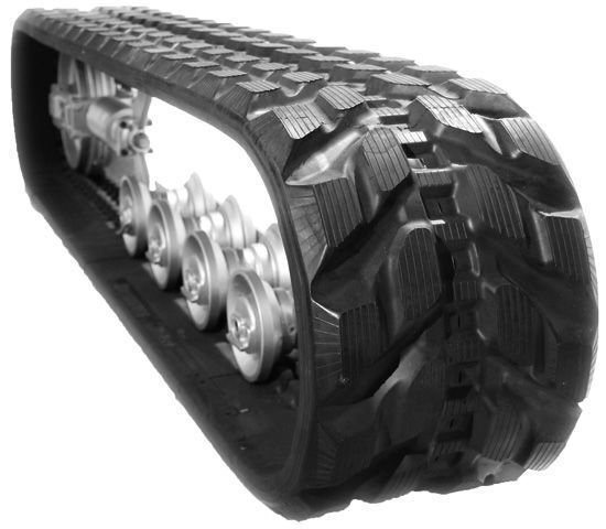 new track chain for CATERPILLAR Rezinovye gusenicy CAMOPLAST excavator