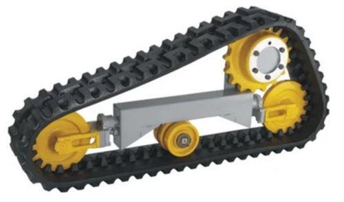new Rezinovaya track chain for HANOMAG Caterpillar, Bobcat, Manitu, Bomag, JCB excavator