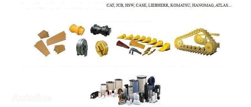 Zapchastini do hodovoyi CAT KOMATSU ATLAS... track chain for excavator