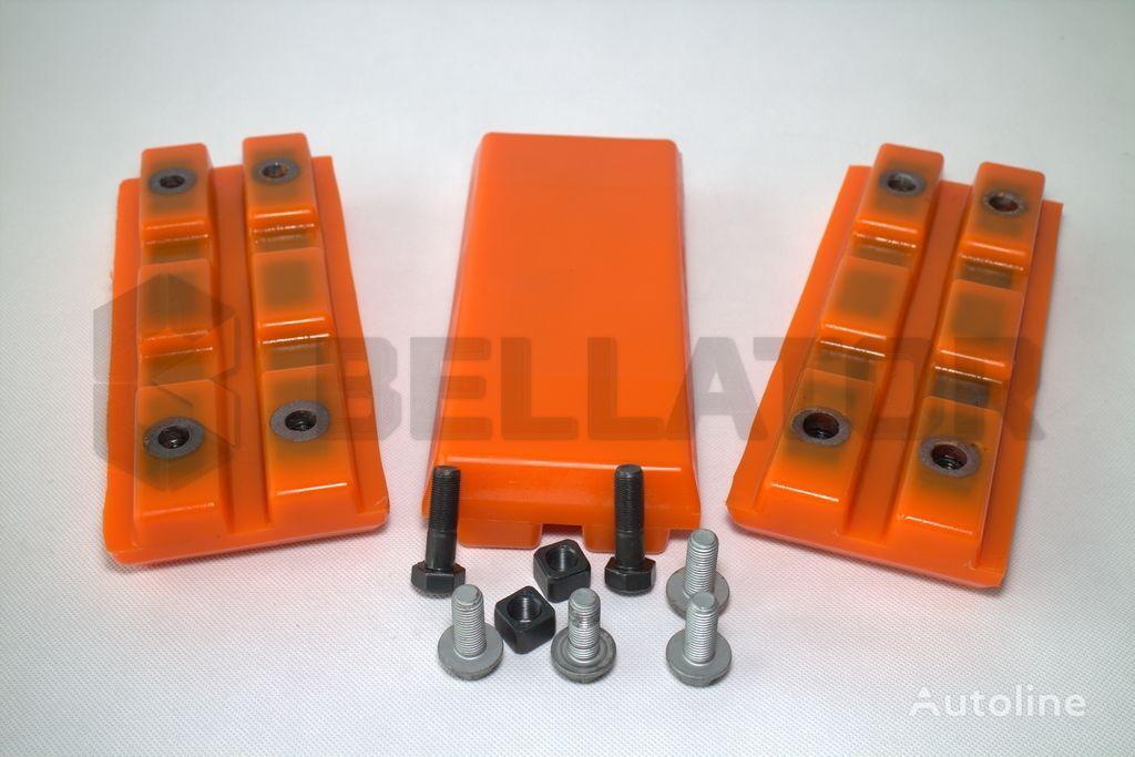new Track pads EPS / Nakładki poliuretanowe Wirtgen track shoe for asphalt milling machine