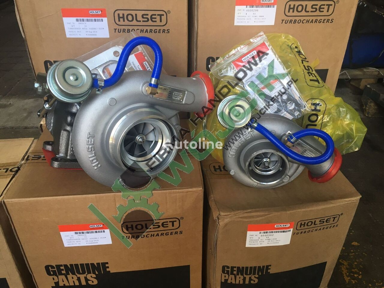 new HOLSET HX30W NEW / Cummins 4BT Komatsu (4089319) turbocharger for other construction machinery