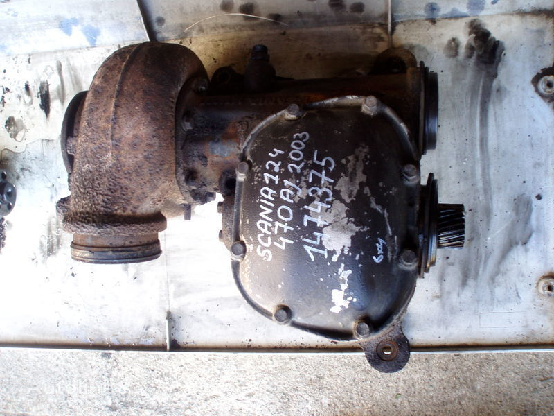 SCANIA 1474375 turbocharger for SCANIA 124   tractor unit