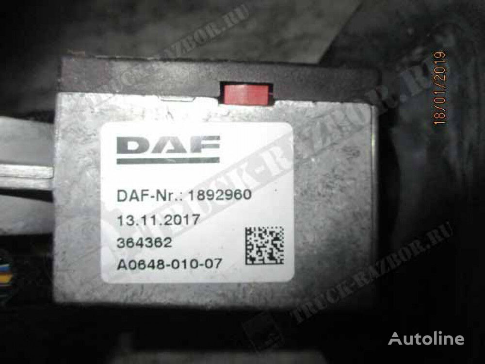 (1892960) understeering switch for DAF tractor unit