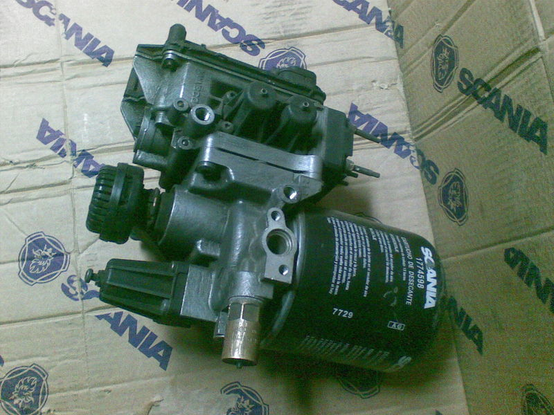 SCANIA OSUSZACZA APS valve for SCANIA SERIE  R tractor unit
