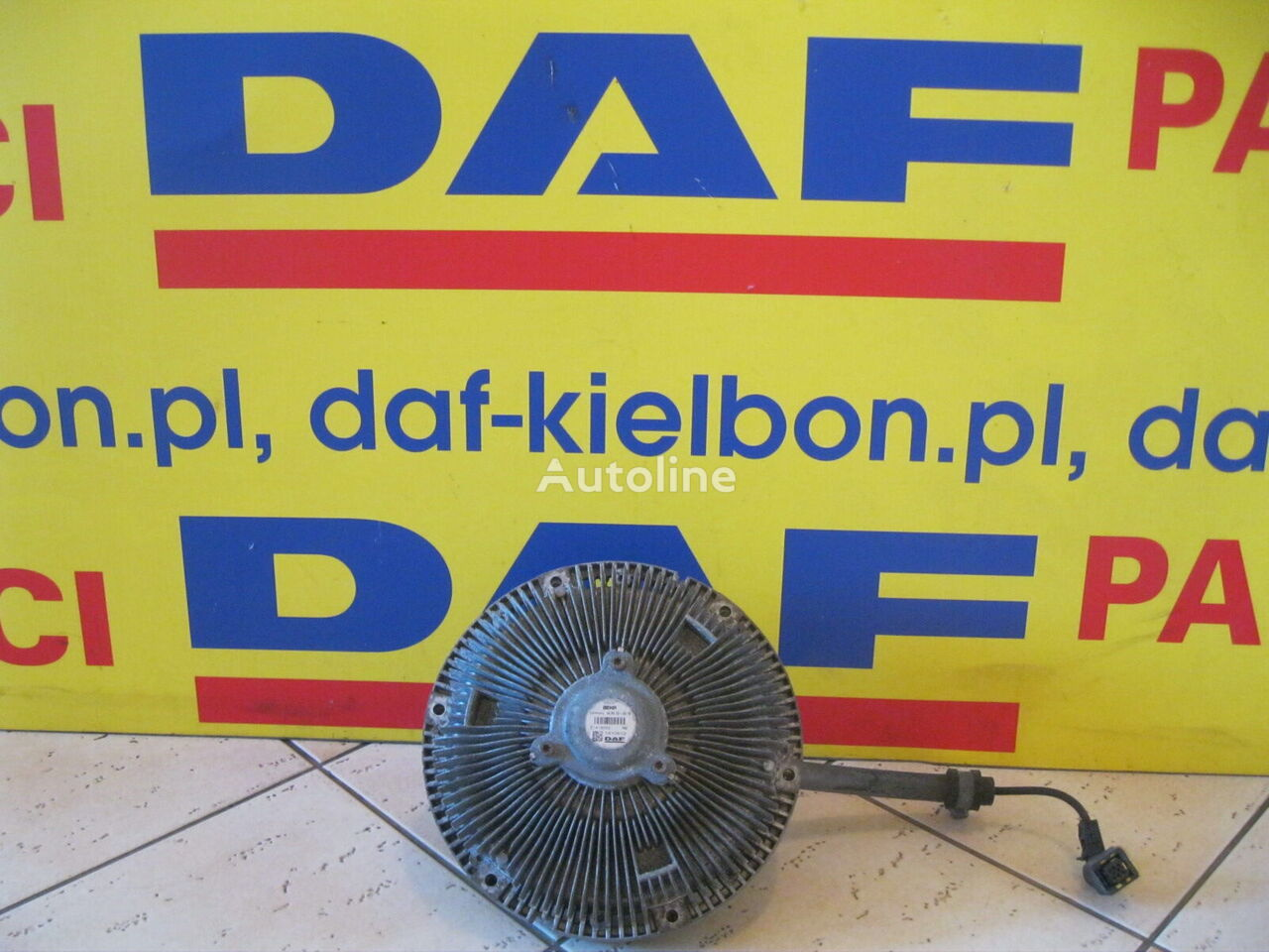 BEHR (1910612) viscous coupling for DAF XF 106 tractor unit