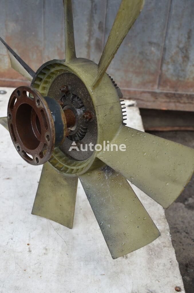 MAN viscous coupling for truck