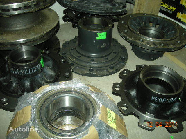 new wheel hub for tractor unit