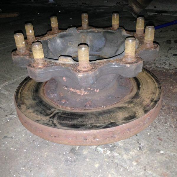 wheel hub for DAF XF95/105 tractor unit