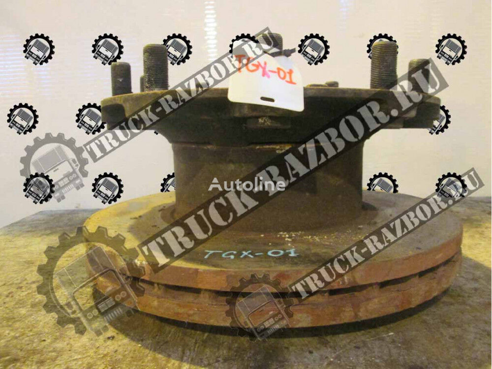 PERED wheel hub for MAN tractor unit