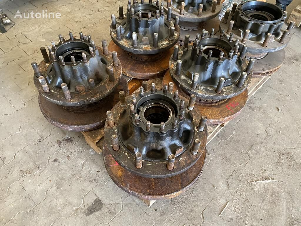 VOLVO FH4 FM 4 / COMPLETE REAR HUB / WORLDWIDE DELIVERY wheel hub for VOLVO FH4 FM4 EURO 6
