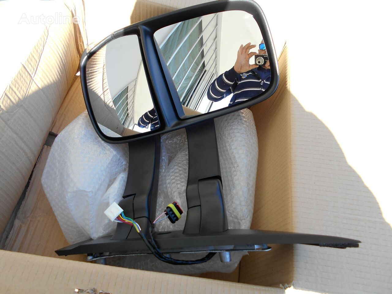 new wing mirror for IVECO automobile