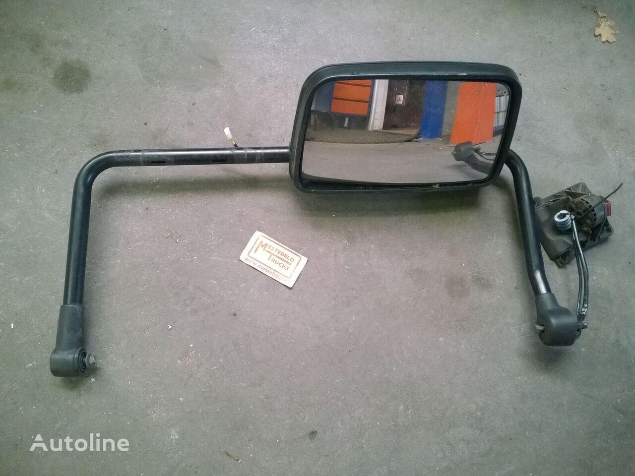 DAF wing mirror for DAF Spiegel + steun LF45 rechts tractor unit