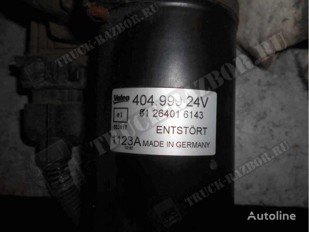 (81264016143) wiper motor for MAN tractor unit