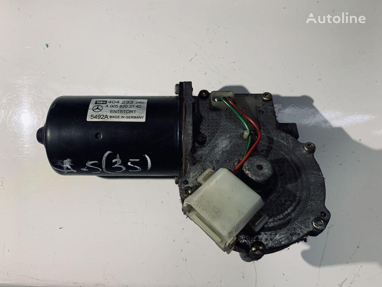 MERCEDES-BENZ (5492A) wiper motor for MERCEDES-BENZ ACTROS tractor unit