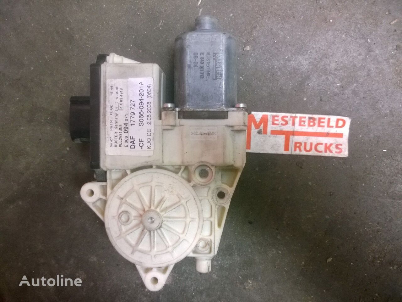 DAF wiper motor for DAF CF truck