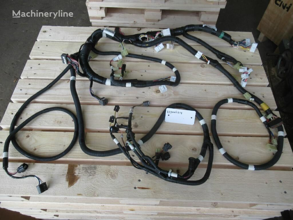 new wiring for excavator