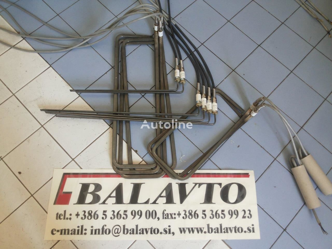 VOLVO wiring for asphalt paver