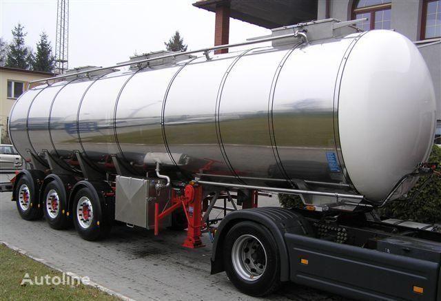 SCHRADER 31500l 5950kg !!! tank trailer