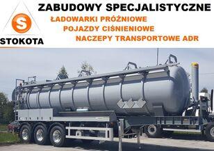 new STOKOTA L4BH do odpadów niebezpiecznych 27500 tanker trailer