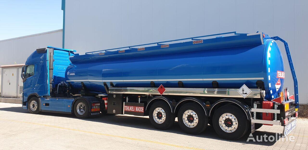 new SAHIN tanker trailer