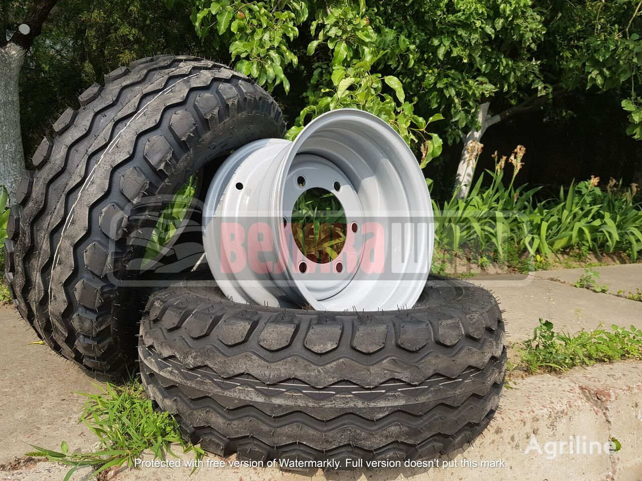 new 10.0/75-15.3 tire for trailer agricultural machinery