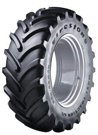 new Firestone 540/65R28 Maxi Tracion 65 142D tractor tire