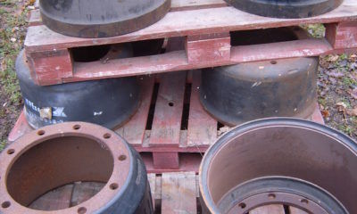 BPW, Remtommels, brakedrums truck wheel rim
