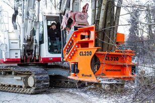 new Westtech Woodcracker CL320 Fällkopf Fällgreifer tracked feller buncher