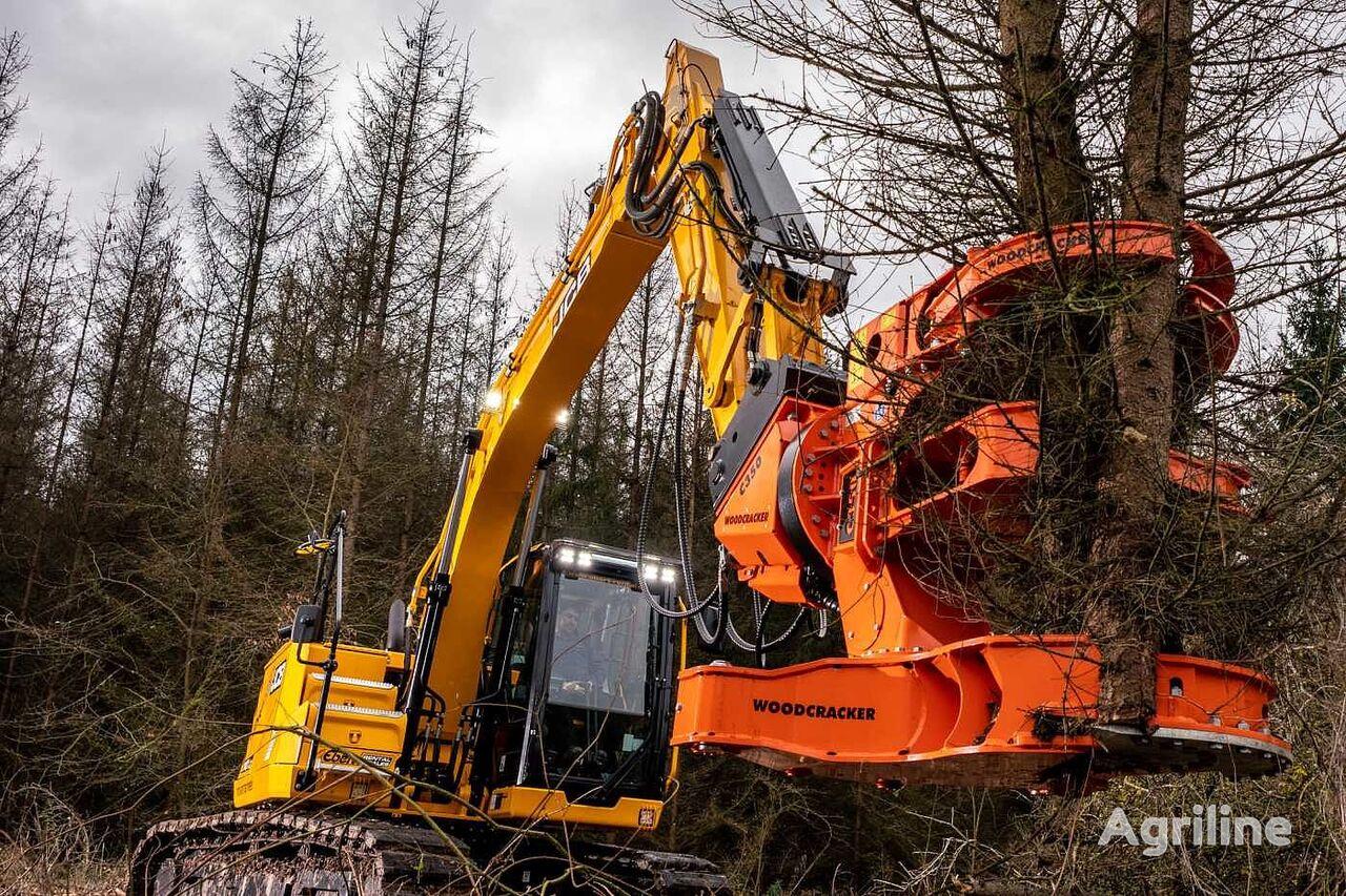 new Westtech Woodcracker C350 Fällgreifer Baumschere tracked feller buncher